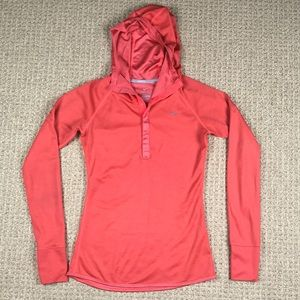 Nike running Dri fit hoodie pullover size small